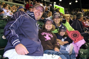 McCullough Family at Safeco Field